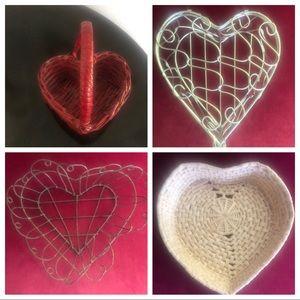 Heart-shaped Baskets